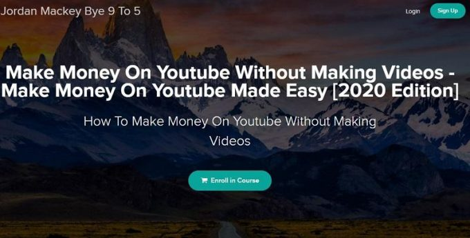 make-money-youtube-without-making-videos