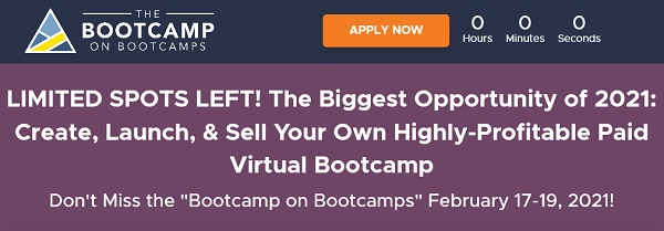 Ryan-Levesque-Bootcamp-on-Bootcamps-2021